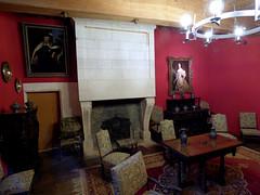 Bourdeilles - Chateau de Bourdeilles, renaissance palace small chamber (2)
