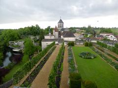 Bourdeilles - Chateau de Bourdeilles, renaissance palace view