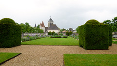 Bourdeilles - Chateau de Bourdeilles, renaissance palace garden (2)