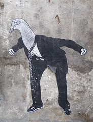 Bourdeilles - street art