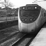 苗栗縣崎頂車站EMU800