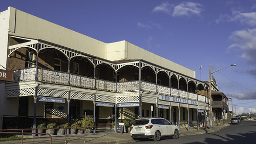 The Old Vic Inn (formerly The Victoria Hotel) Canowindra NSW - built from 1908.