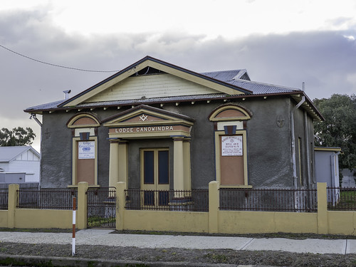 Canowindra Masonic Lodge, built 1926.