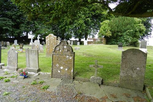 lapida cementerio Iglesia de San Patricio Colina de Tara Republica de Irlanda 07