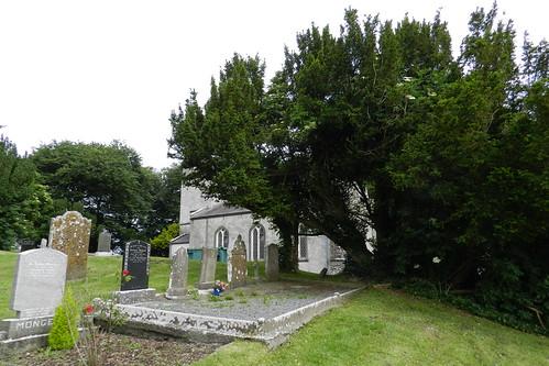 lapida cementerio Iglesia de San Patricio Colina de Tara Republica de Irlanda 06