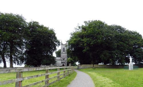 exterior Iglesia de San Patricio Colina de Tara Republica de Irlanda 01