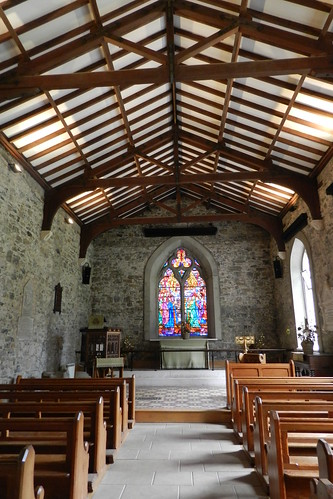 interior Iglesia de San Patricio Colina de Tara Republica de Irlanda 02