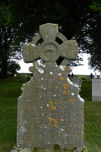 lapida cementerio Iglesia de San Patricio Colina de Tara Republica de Irlanda 09