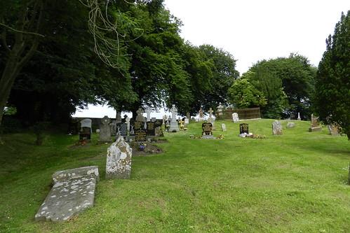 lapida cementerio Iglesia de San Patricio Colina de Tara Republica de Irlanda 05
