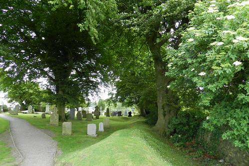 lapida cementerio Iglesia de San Patricio Colina de Tara Republica de Irlanda 02