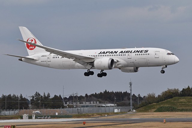 Boeing 787-8 'JA824J' Japan Airlines