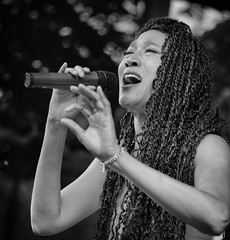 Judith Hill - in black and white