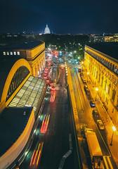 Nighttime at Union Station