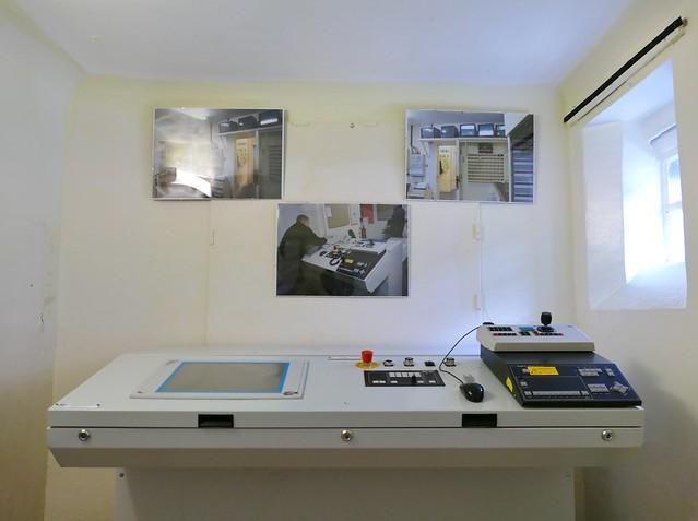 Peterhead Prison Control Room