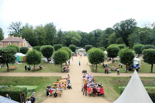 Schlosspark Neschwitz Juli 2019