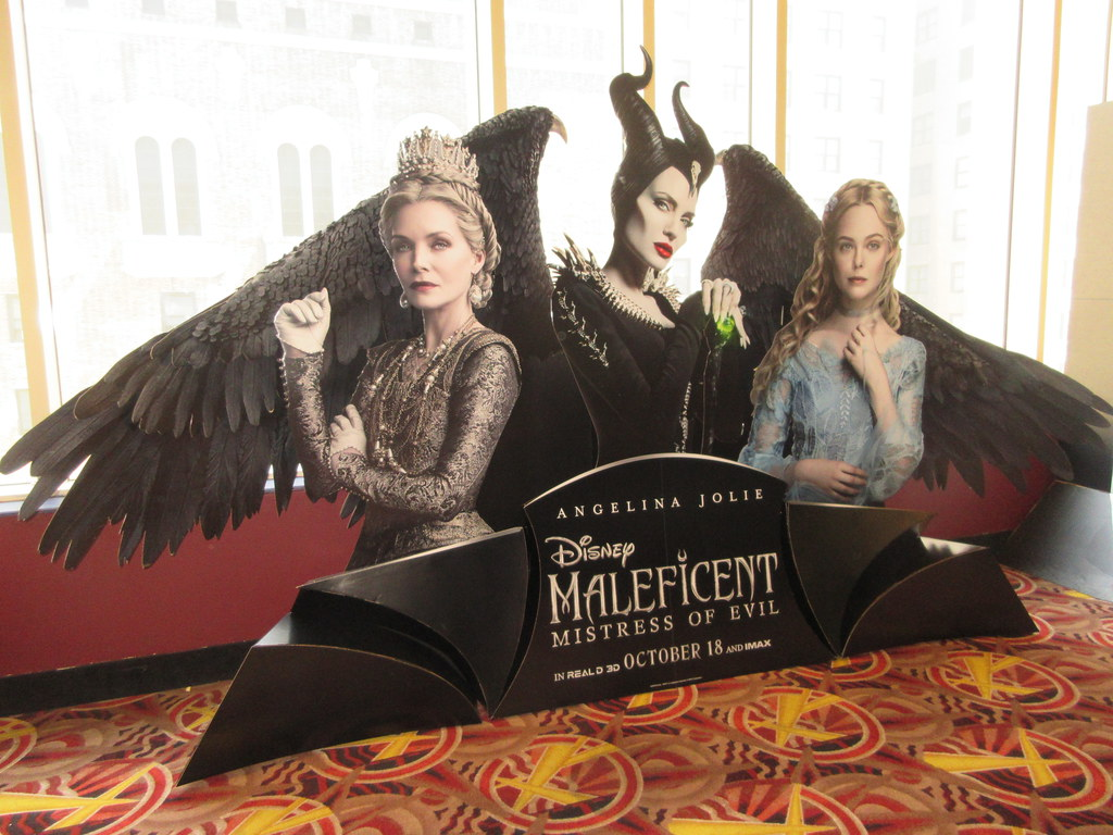 2019 Maleficent Mistress Of Evil Movie Poster Standee 6227