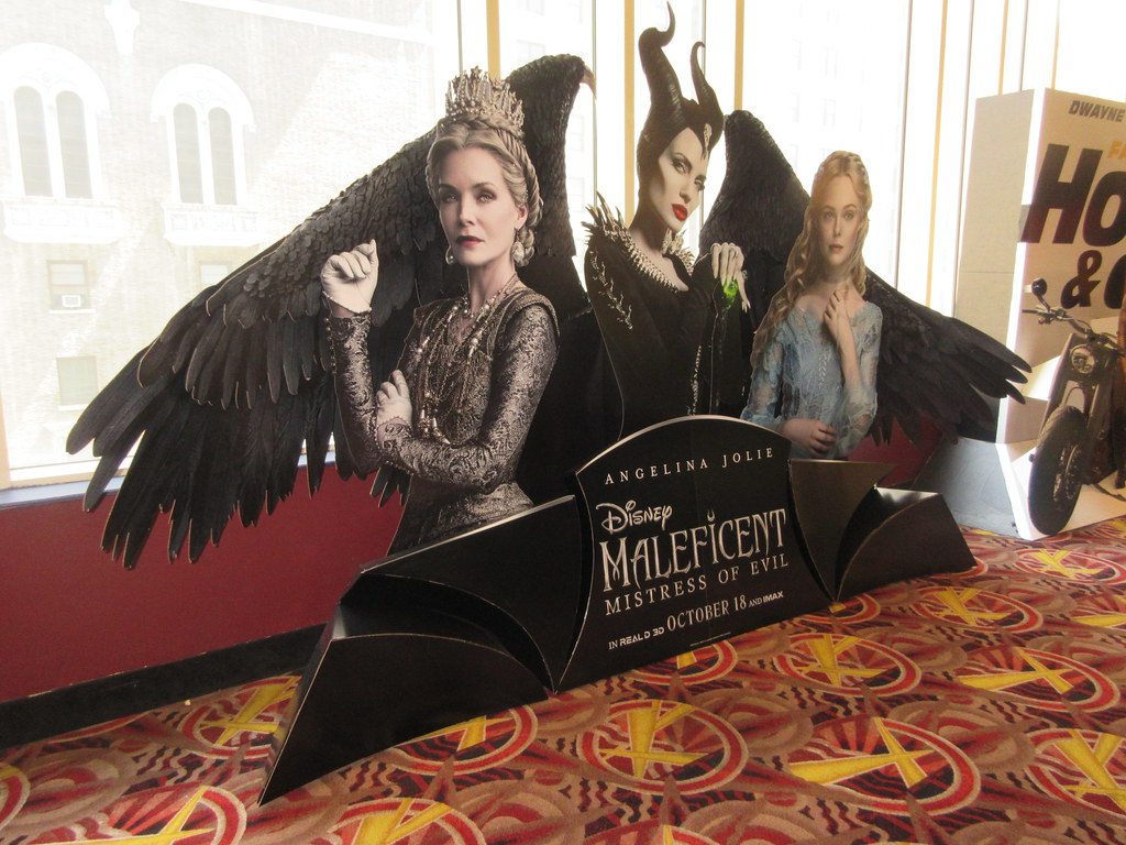 2019 Maleficent Mistress Of Evil Movie Poster Standee 6226