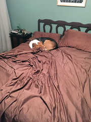 his side of the bed