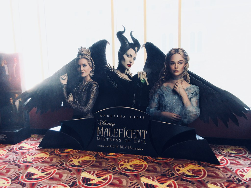 2019 Maleficent Mistress Of Evil Movie Poster Standee 6196