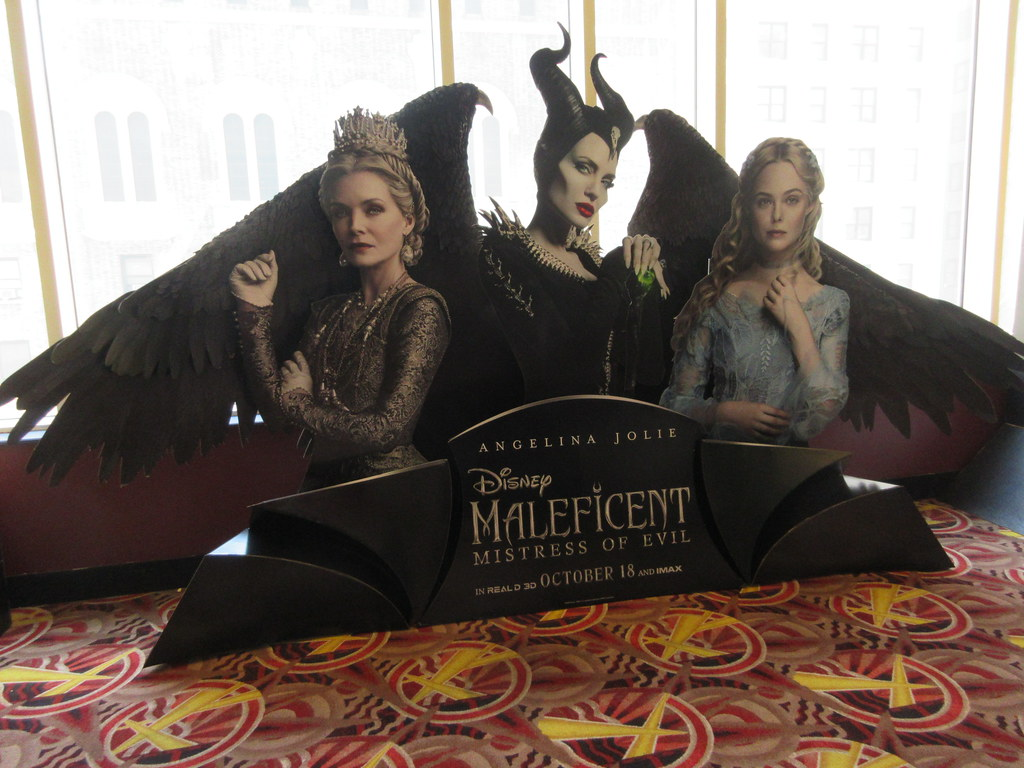 2019 Maleficent Mistress Of Evil Movie Poster Standee 6229