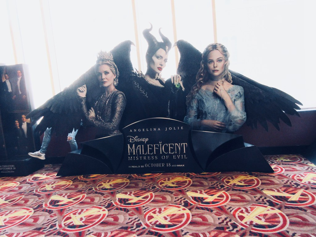 2019 Maleficent Mistress Of Evil Movie Poster Standee 6255