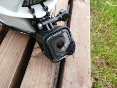 chin cam setup with Gopro 4 session on Fox Rampage Pro Carbon
