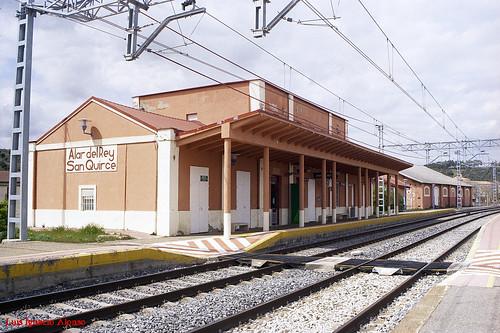 RENFE (NORTE)  Alar del Rey-San Quirce  22-4-2019