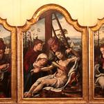 Maarten van Heemskerck (o Marten Jacobszoon Heemskerk van Veen; Heemskerk, 1498 - 1574) - trittico con la Deposizione, Maria Maddalena e Giuseppe d'Arimatea (XVI secolo) - Museo Nazionale Romano Palazzo Barberini - Roma - https://www.flickr.com/people/94185526@N04/