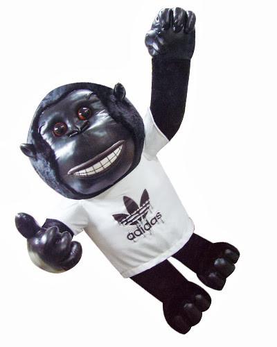 adidas黑猩猩