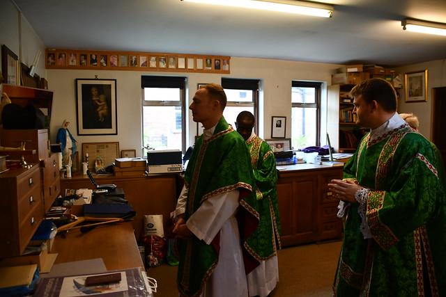 Fr David Donaghue's First Mass