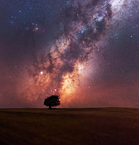 Milky Way at Boddington in Western Australia