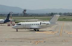 M-ABGS Canadair Challenger CL600 Viking travel Pisa 06-06-19