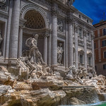 Trevi Fountain - https://www.flickr.com/people/181635230@N06/