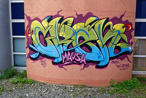 Graffiti 2019 in Neuf-Brisach