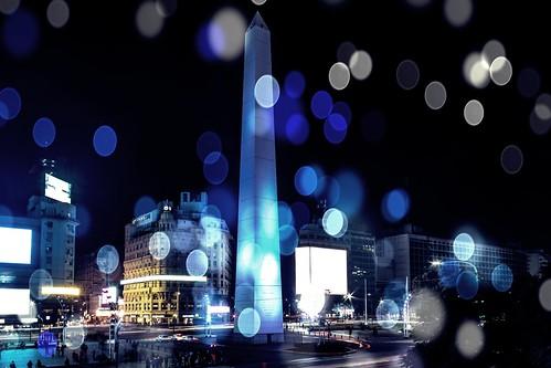 Obelisco de Buenos Aires (Bokeh)