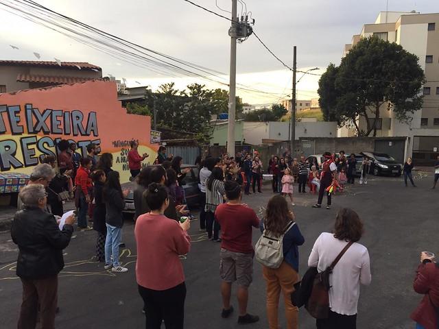 No domingo (21), aconteceu no Quilombo a Virada Cultura da Resistência, com várias atrações culturais - Créditos: Fotos: Júlia Nascimento