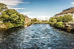 THE RIVER CORRIB GALWAY [PHOTOGRAPHED AUGUST 2015 USING A SONY NEX-7]-154341
