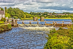 THE RIVER CORRIB GALWAY [PHOTOGRAPHED AUGUST 2015 USING A SONY NEX-7]-154340