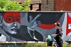 Berlim - graffiti - Ageage, WESR e Caro Pepe