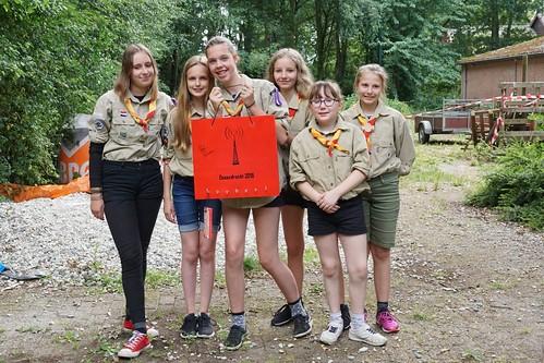 Scouting groep Prinses Irene 45 in Ossendrecht.