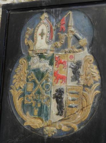 escudo heraldico interior Iglesia Catedral de Cristo o de la Santisima Trinidad Waterford Republica de Irlanda 03