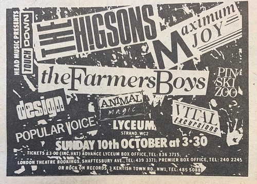 NME, 25 September 1982. #NME  #MyLifeInTheUKMusicPress #1982