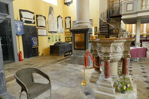 interior Iglesia Catedral de Cristo o de la Santisima Trinidad Waterford Republica de Irlanda 02