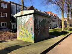 Elektriciteitshuisje - Avenue Concordia Rotterdam