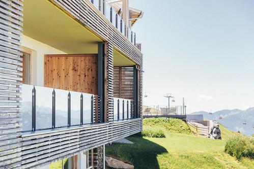 Balkon am Alpinhotel Pacheiner