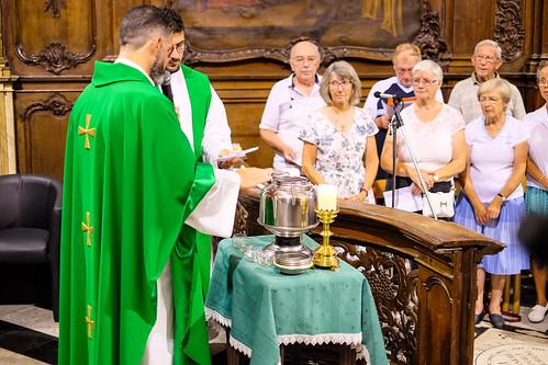 Bénédiction de l'Huile de Saint Charbel