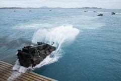 USS Green Bay (LPD 20) conducts amphibious operations.