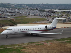 9H-YOU Bombardier Challenger 850 (Air X Charter)