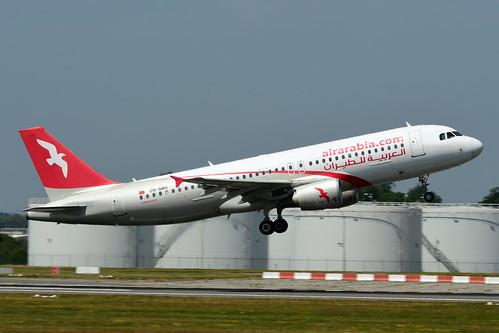 CN-NMH A320-214 cn 5143 Air Arabia Maroc 180627 Brussel-Zaventem 1002