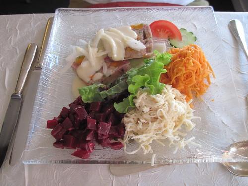 Dinner at Hotel-Restaurant Muller, Niederbronn-les-Bains, France